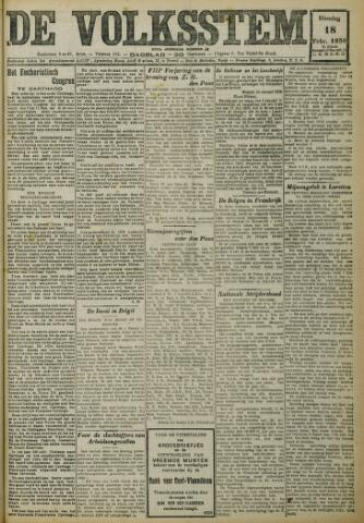 De Volksstem 1930-02-18