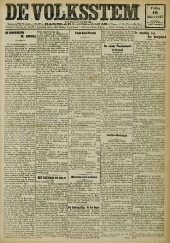 De Volksstem 1923-03-16