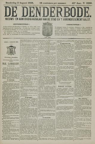De Denderbode 1888-08-02