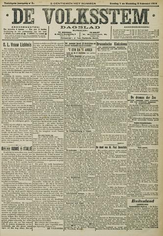 De Volksstem 1914-02-01