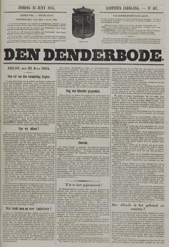 De Denderbode 1854-06-25