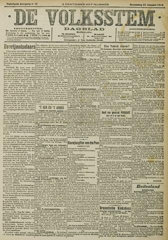 De Volksstem 1914-01-21