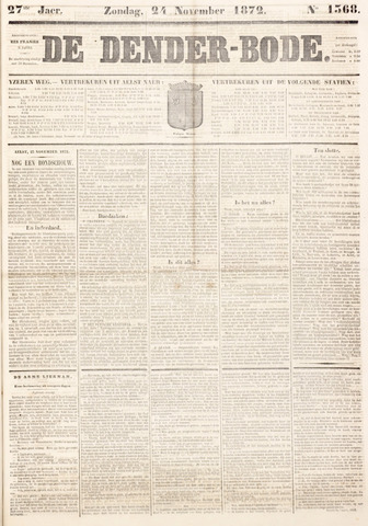 De Denderbode 1872-11-24