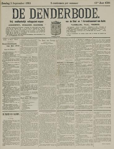 De Denderbode 1911-09-03