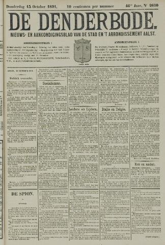 De Denderbode 1891-10-15