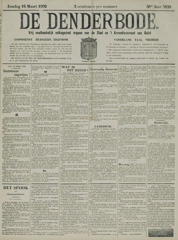 De Denderbode 1902-03-16