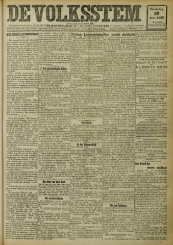 De Volksstem 1923-06-20