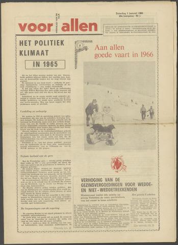 Voor Allen 1966
