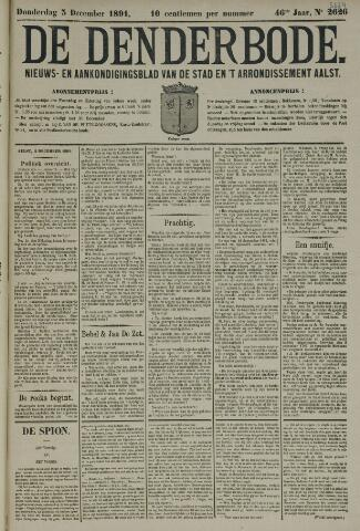 De Denderbode 1891-12-03