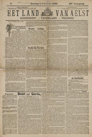 Het Land van Aelst 1888-02-05