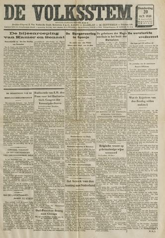 De Volksstem 1938-10-20