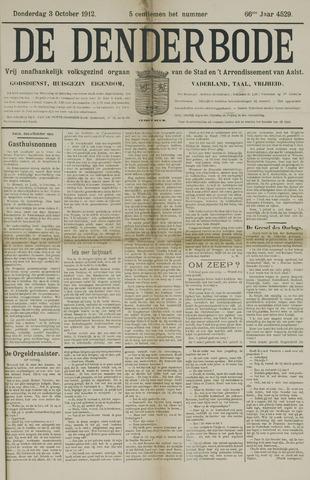 De Denderbode 1912-10-03