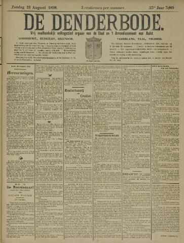 De Denderbode 1898-08-21