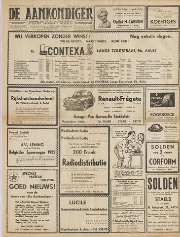 Aankondiger 1955