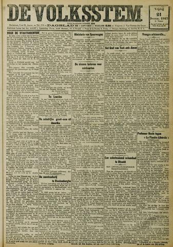 De Volksstem 1923-12-21