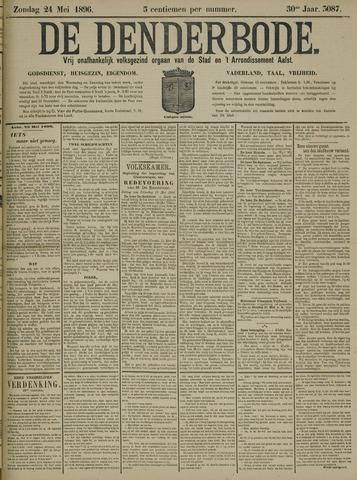 De Denderbode 1896-05-24