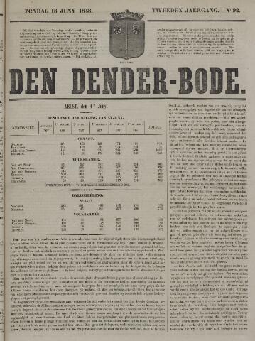 De Denderbode 1848-06-18