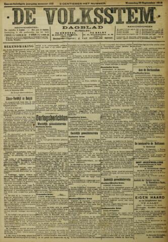 De Volksstem 1915-09-22