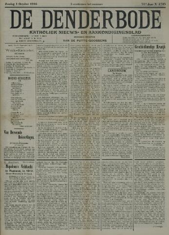 De Denderbode 1916-10-01