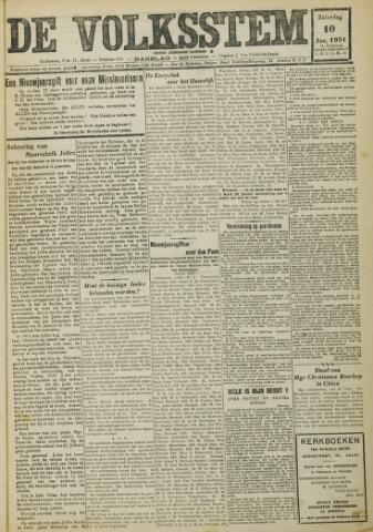De Volksstem 1931-01-10