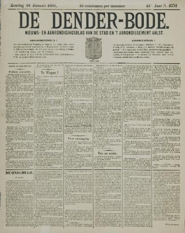 De Denderbode 1891-01-18