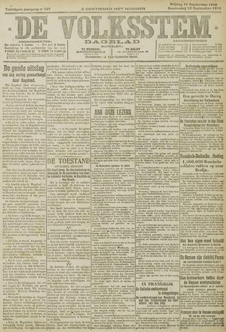 De Volksstem 1914-09-10