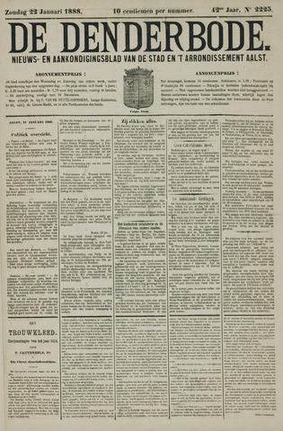 De Denderbode 1888-01-22