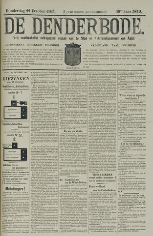 De Denderbode 1903-10-22