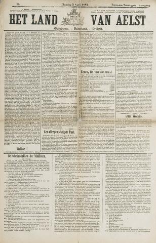 Het Land van Aelst 1881-04-03