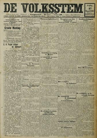 De Volksstem 1926-08-27