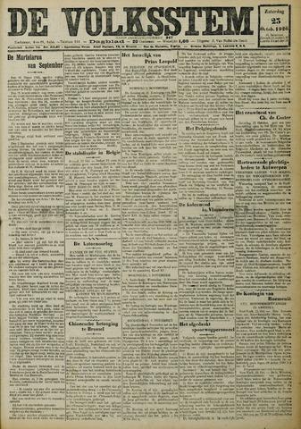 De Volksstem 1926-10-23