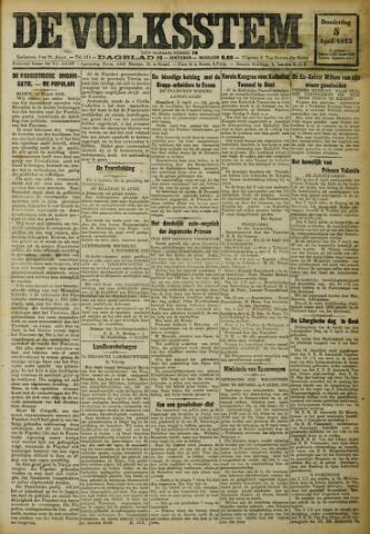 De Volksstem 1923-04-05