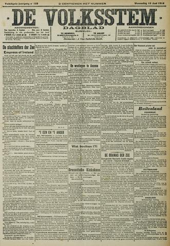 De Volksstem 1914-06-10