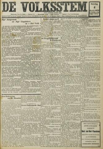 De Volksstem 1930-10-04