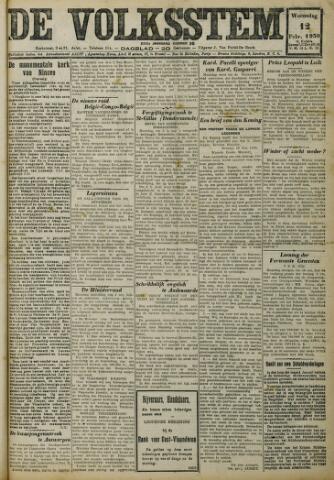 De Volksstem 1930-02-12