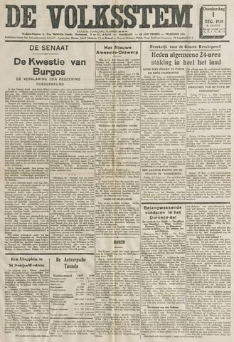 De Volksstem 1938-12-01