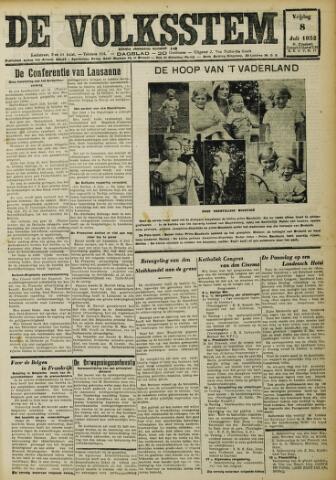 De Volksstem 1932-07-08
