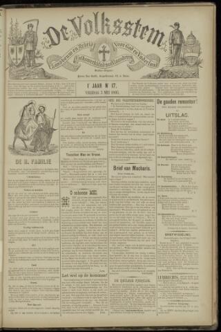 De Volksstem 1895-05-03