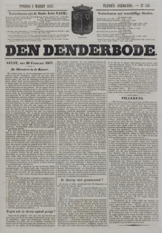 De Denderbode 1857-03-01
