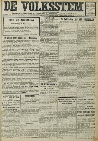 De Volksstem 1931-11-08