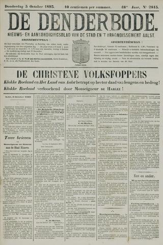 De Denderbode 1893-10-05