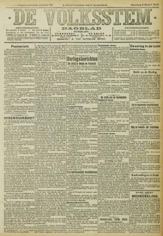 De Volksstem 1915-03-09