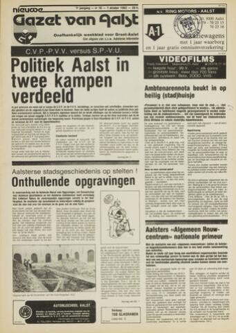 Nieuwe Gazet van Aalst 1982-10-01