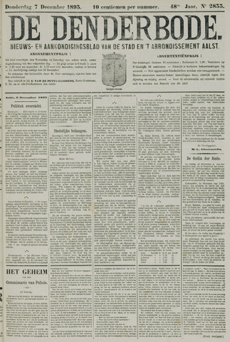 De Denderbode 1893-12-07