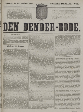 De Denderbode 1847-12-19