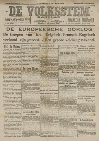 De Volksstem 1914-08-12