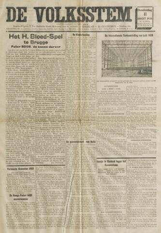De Volksstem 1938-08-11
