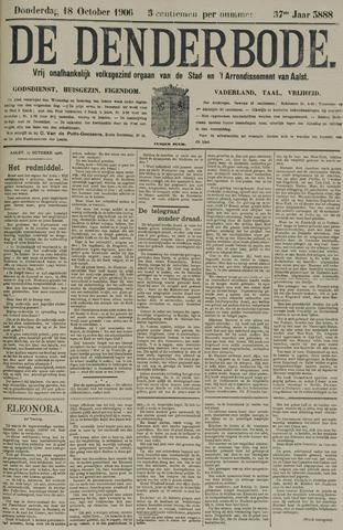 De Denderbode 1906-10-18