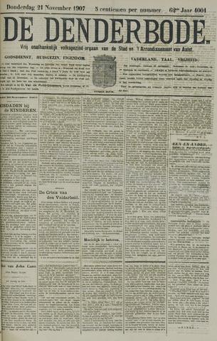De Denderbode 1907-11-21