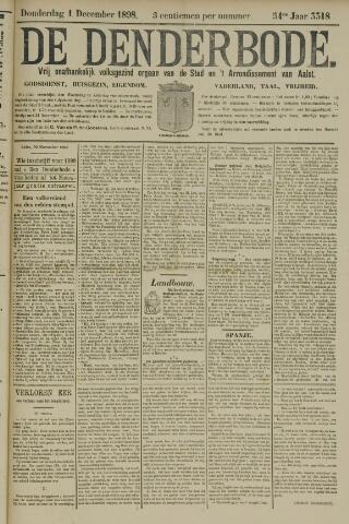 De Denderbode 1898-12-01